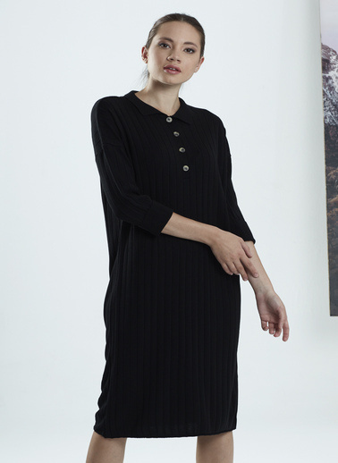 Stamina Elbise Siyah
